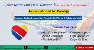 Southwest Airlines Careers